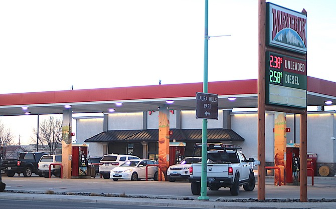 Maverik stores across the West, including the one in Fallon, are helping to feed people affected by COVID-19.