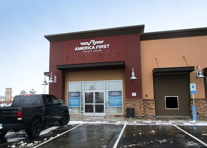 Northern Nevada's first America First Credit Union is scheduled to open in Douglas County on Feb. 16.