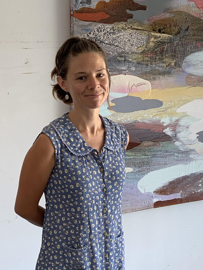 Rachel Stiff will present Entitled to the Sun at the CCAI Courthouse Gallery.