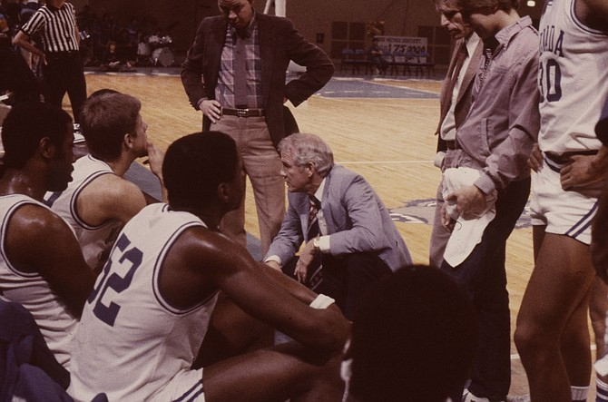 Coach Sonny Allen led Nevada to its first NCAA Tournament appearance in 1984. (Photo: Nevada Athletics)