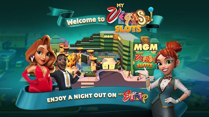 Screen shot of myVegas Strip home page for customers of MGM Grand Las Vegas.