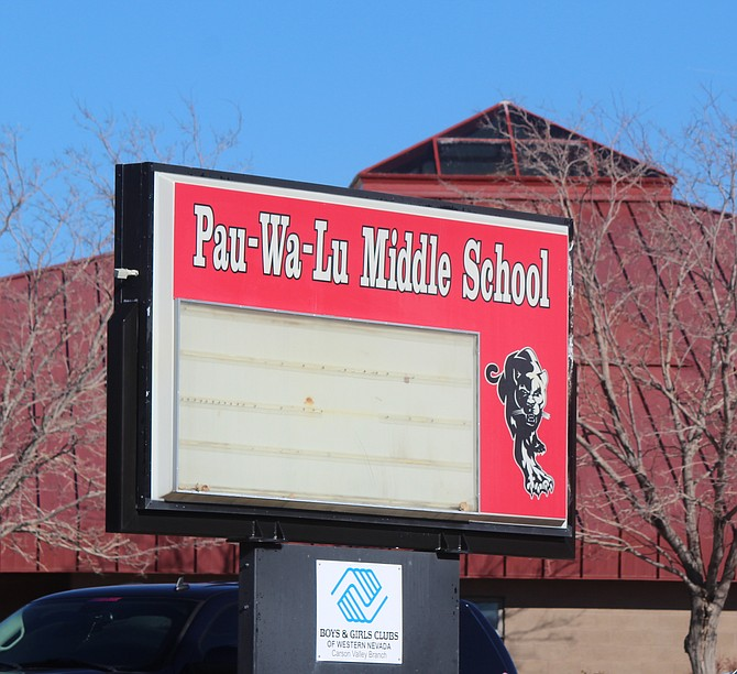 Pau-Wa-Lu and Carson Valley middle schools will be welcoming back sixth-graders to full-time in-person class on Monday.