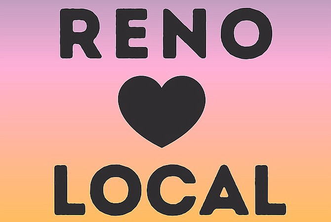Reno Loves Local logo