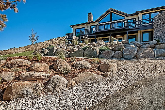 A look at a recent residential landscaping project completed by DRC Landscaping in Sparks.