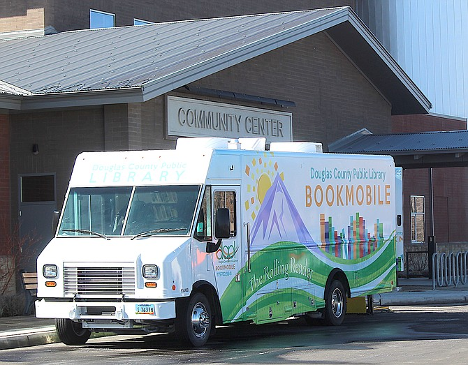 The Bookmobile is at the Douglas County Community & Senior Center on Wednesdays and Fridays.
