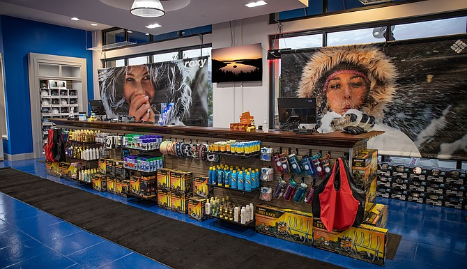 Outdoor equipment retailer BlueZone Sports saw such strong sales in 2020 it was able to open a new location (pictured here) at the Summit Reno mall in November.