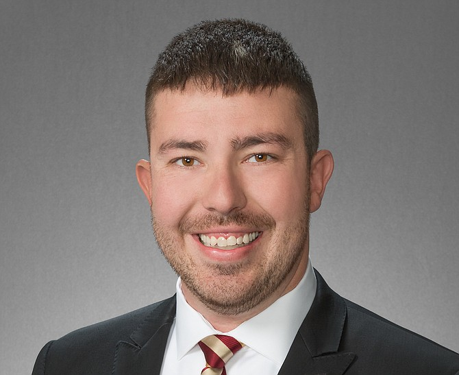 Donald Abbott was elected to his first Sparks City Council term in November 2016 and reelect-ed in November 2020. He is the youngest person ever to serve on the council.