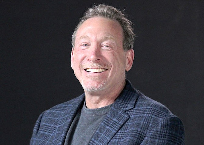 Jeff Berns is CEO of Blockchains LLC in Storey County.