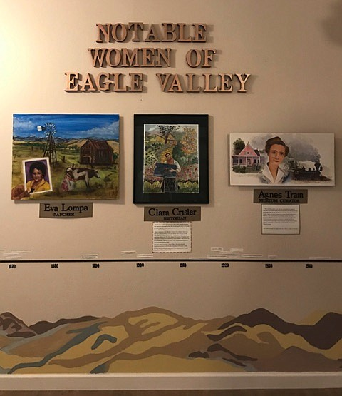 """The Carson City Historical Society will unveil the """"Notable Women of Eagle Valley"""" exhibit on Saturday."""