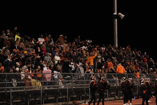 Thomas Ranson/LVN, file Fernley football fans will be allowed to attend the March 27 game in Fallon after approval by the Churchill County School District.