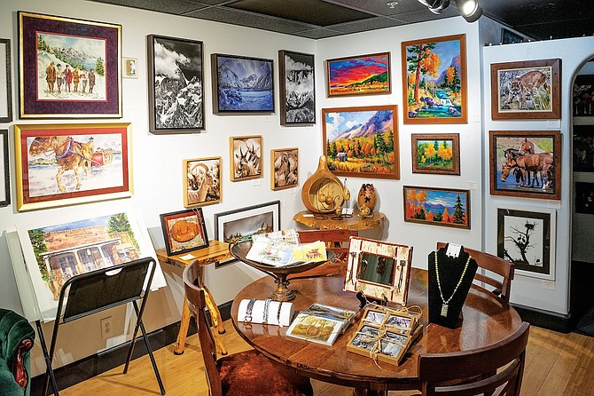 The Art Gallery@Prism is located in the Minden Wool Building at the corner of Highway 395 and Buckeye Road Minden