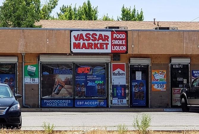 Vassar Market is located at 1870 Vassar St. in Reno.
