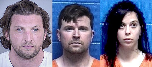 Bradley Kohorst, Cory Spurlock and Orit Oged were arrested this week in connection with a Mono County double homicide.