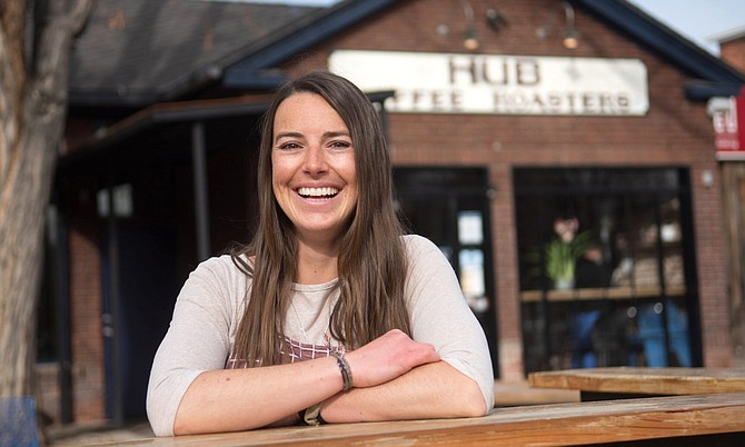 Nicki Simon, 25, is owner of Baked By Nicki, established in October amid the pandemic.