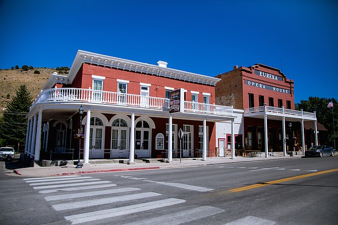 A look at downtown Eureka in rural Northern Nevada. A new special event, the Eureka Gold Rush Games, is set for June 26-27 this year.
