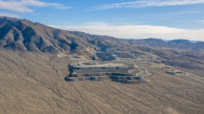 The 20-acre Bonanza King Mine property is located in Pershing County's Spring Valley mining district, roughly 100 miles east of Reno.