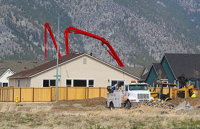 New home construction continues in Minden.