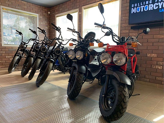 Rolling Freedom offers different types of motorcycle and moped rentals.