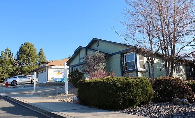 Homes for sale in Reno, like this one in Northwest Reno seen April 14, are not lasting long on the market due to the low inventory.