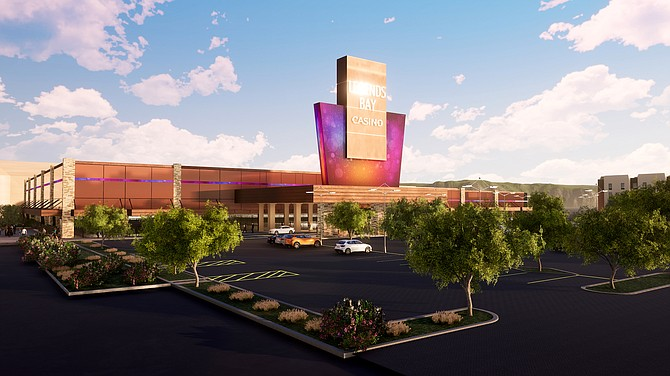 Legends Bay Casino, which broke ground in March 2021, will be the first casino built from the ground up in Reno-Sparks since 1995.