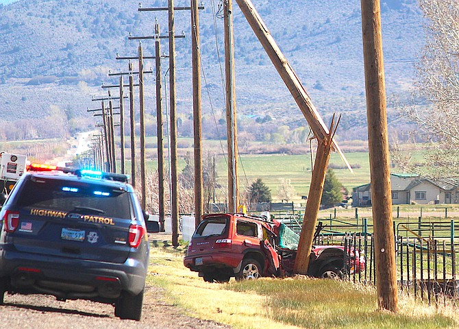Highway 88 is down to one lane south of Kimmerling Road for a fatal collision.