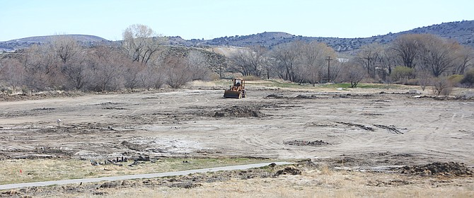 Pictured are the beginnings of two grass fields designed by SportLogic and owner Marc Radow. The fields are located off of Morgan Mill Road via North Deer Run Road on the backside of the Empire Ranch Golf Course. The parking lot for the fields will be located next to the Empire Ranch Trail head.