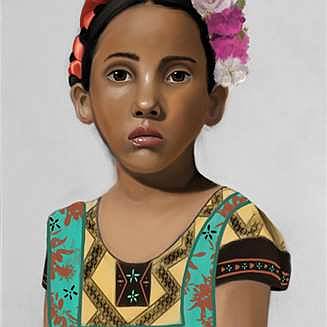 Kirsten Workman, 'Pequeña Méxicana,' digital photo.
