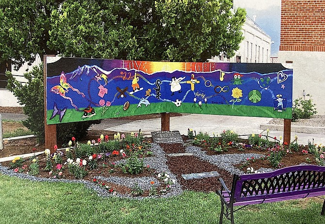 The memorial sign that was in front of the Carson Valley Museum & Cultural Center will find a new home in front of Carson Valley Middle School.