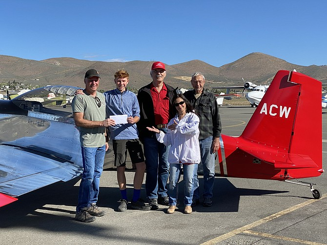 Spenser and EAA Sierra Chapter 403 committee