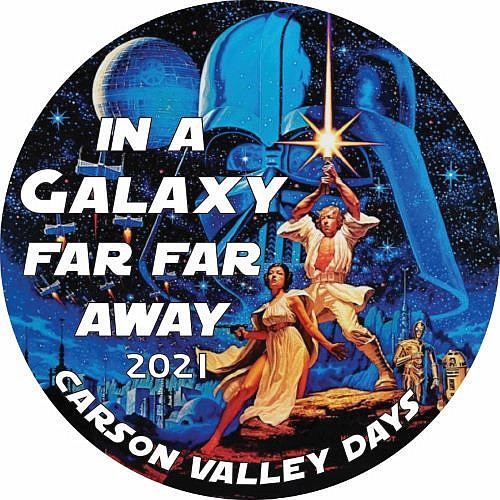 Carson Valley Days buttons are available at Raley's, Nevada State Bank, JT Basque Bar & Dining Room, Accolades Trophies and Battle Born Wines. They're $2 each, or two for $3.