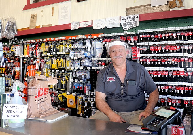 Tim Carter, owner of Carter Bros. Ace Hardware in Reno, said business throughout the pandemic has been strong, partially driven by consumers spending on products for their homes and backyards.