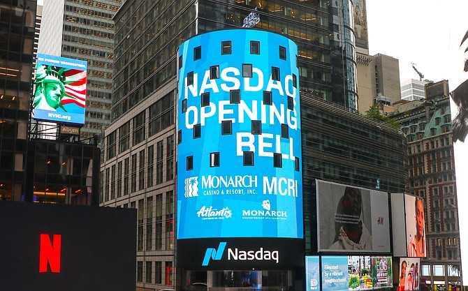 The May 10 virtual event was streamed online and on the Nasdaq Tower in Times Square.