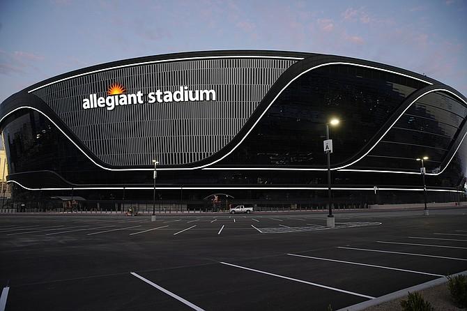 Allegiant Stadium (Photo: Associated Press)