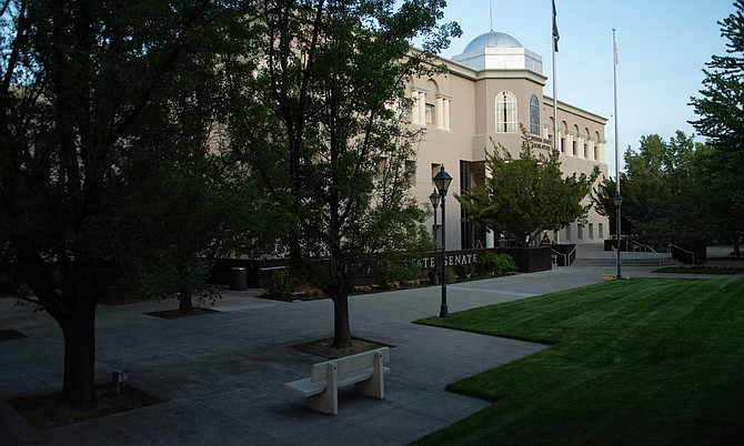 The Legislature on the final day of the 81st session, Monday, May 31, 2021, in Carson City.