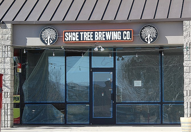 Shoe Tree Brewing Company opened in Minden last month. The brewery located next door to the Ironwood Cinemas has been in the works since before the pandemic.