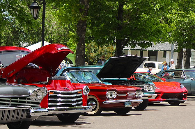 Car show season opened in 'Cars'on Valley on Saturday with the Rappin' to Minden show at Minden Park.