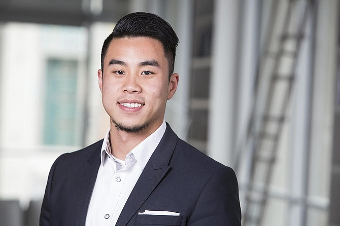 """Eric Liao, co-founder of Drank, said Nevada's business-friendly tax structure was """"an added benefit"""" when it came to relocating the startup to the Silver State."""