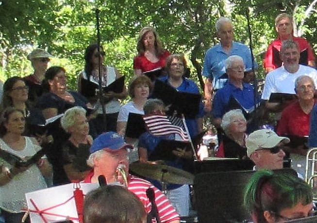 Carson Chamber Singers will perform with Carson City Symphony July 4 in Genoa.