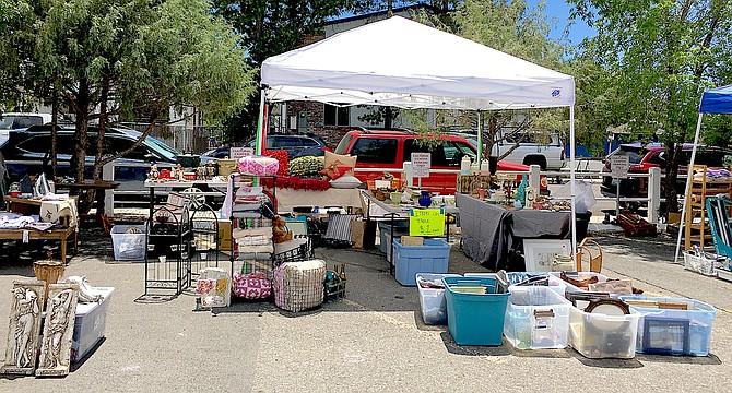 The Carson Valley Museum Flea Market on June 5.