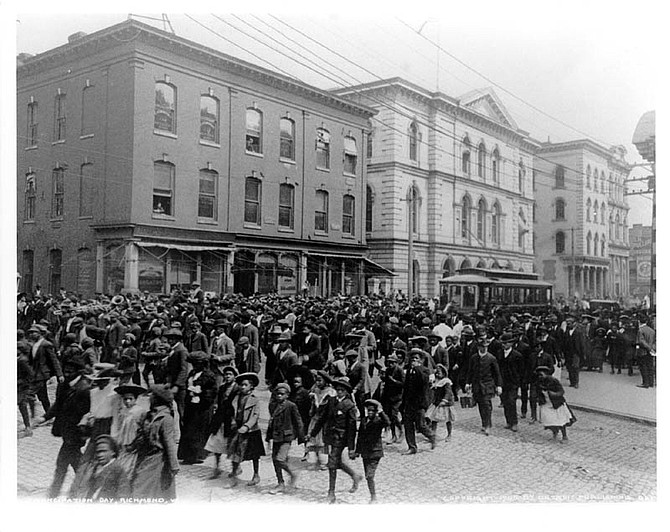 Emancipation Day in Richmond, Va., 1905. Photo By VCU Libraries