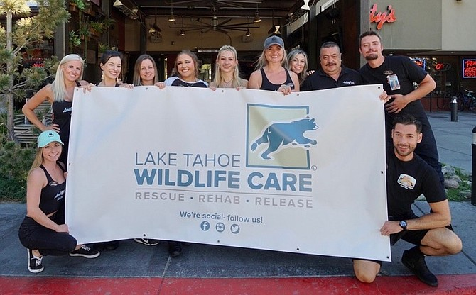 The staff at the Lucky Beaver Bar and Burger in Stateline donated more than $20,000 to Tahoe Wildlife Care over the last month. For more information on Tahoe Wildlife Care and how to help visit their website at https://ltwc.org.