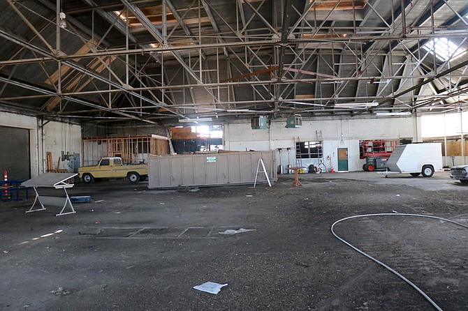 The historic building that originally served as Reno Brewing Company bottling plant consists of an expansive room of some 13,000 square feet.