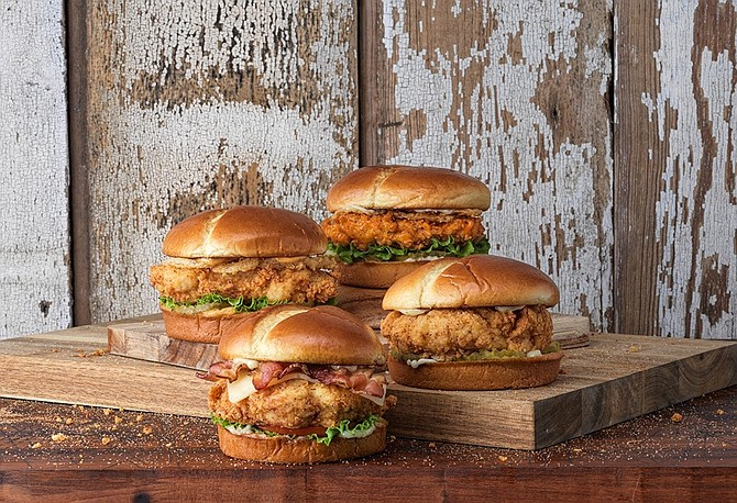 Slim Chickens' Southern-inspired menu includes sandwiches, tenders, wraps and more.
