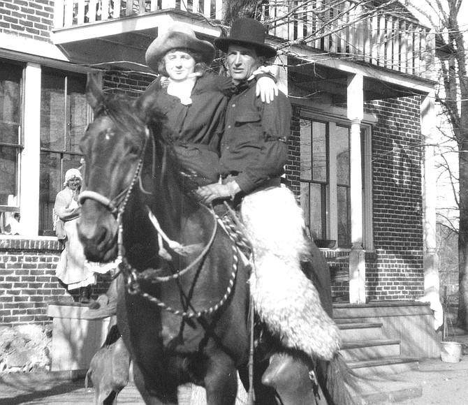 Will James and wife Alice in Reno.