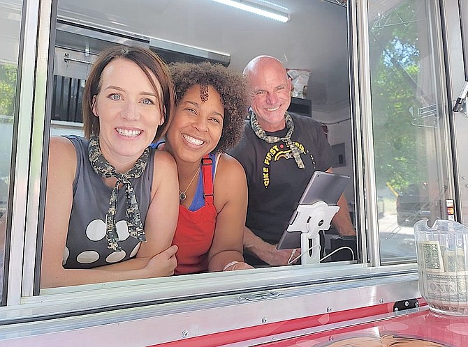 The crew at Hungry Hearts food truck will be at Genoa Bar this weekend.