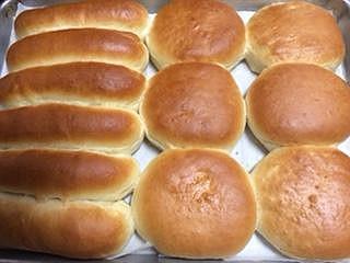 Michelle Palmer's hamburger buns.