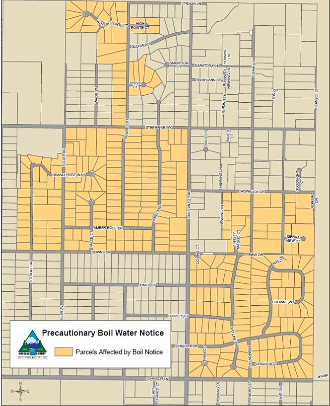 A boil water order has been rescinded for the Skyline area of East Valley.