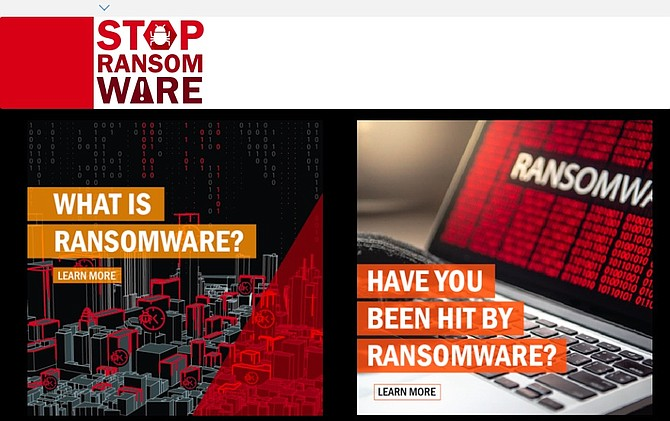 The U.S. Departments of Justice and Homeland Security launched a website called stopransomware.gov to provide resources for people, businesses and other organizations.