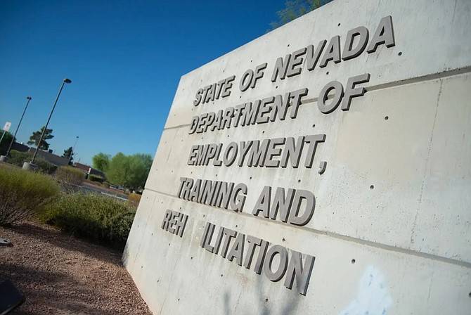 Offices of the Department of Employment, Training and Rehabilitation in Las Vegas.