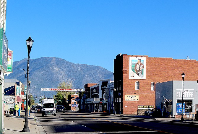 Gardnerville is home to Douglas County's second oldest business district.